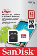 THẺ NHỚ SANDISK MICRO SDHC ULTRA III 32GB 80MB/S