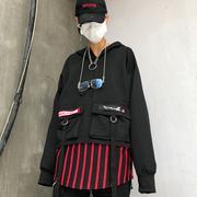 áo hoodie giả 2 áo túi hộp