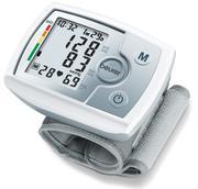 Máy đo huyết áp cổ tay Beurer BC31 (màu xám)