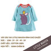 Little Maven-Váy chuột bi xanh5T