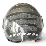 Mũ bảo hiểm trùm đầu ANDES 202 D (Xám)