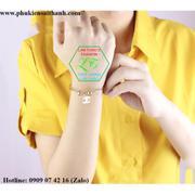 Vòng tay Inox Nữ HQ Chanel mạ vàng 14k cao cấp VT188 (VÀNG)