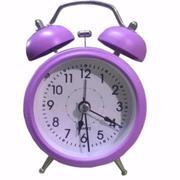 Đồng Hồ Báo Thức Để Bàn Mini Alarm Cao Cấp ( Tím )
