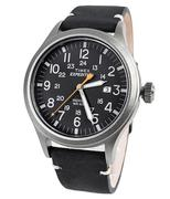 Đồng hồ nam dây da TIMEX TW4B01900  - Đen