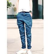 quần dài nam túi dây kéo