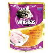 Sốt Whiskas Gà Cá Ngừ 85g