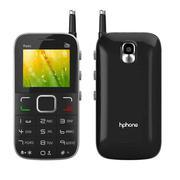 Điện thoại Hphone Rado màu đen