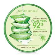 Gel dưỡng đa năng chiết xuất lô hội Nature Republic Soothing & Moisture Aloe Vera 92% 300ml