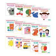 Set 15 cuốn sách chuyển động thông minh đa ngữ Việt - Anh - Pháp