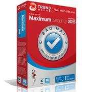 Phần mềm diệt virus Trend Micro Maximum Security 2015