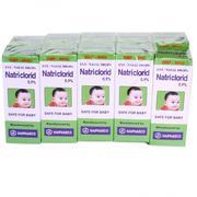 Nước muối sinh lý Natriclorid 10ml (0.9%)