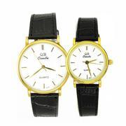 Đồng hồ đôi nam nữ QB 18920-16DO (Đen)