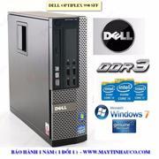 Máy tính để bàn Dell optiplex 990 Core i3 RAM 4GB HDD 500GB - Hàng nhập khẩu (Xám)