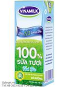 Sữa tươi tiệt trùng tách béo 100% không đường  - Hiệu Vinamilk