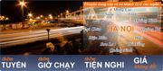 Vé xe khách chất lượng cao chuyên tuyến Hà Nội - Sơn La - Thuận Châu