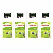 Thẻ nhớ MicroSDHC Toshiba M202 UHS-I U1 16GB 80MB/s (Đen)
