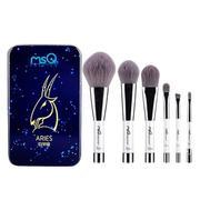 6 PCS Makeup Cosmetic Bamboo Charcoal Fiber Brush Blush Powder Foundation Eye Shadow Eyebrow Lip Bru...