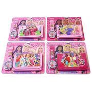 Đồng hồ và ví thời trang Barbie cho bé