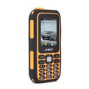 Điện thoại A8000 chống sốc - kiêm sạc dự phòng màu cam đen
