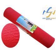 Thảm tập Yoga hoa văn kèm túi (Đỏ)