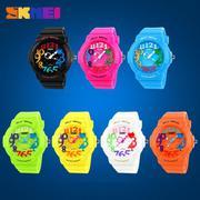 Đồng hồ trẻ em dây nhựa Skmei 1042 (Xanh lá)