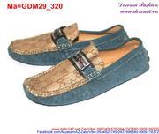 Giày mọi da nam thiết kế nổi bật sang chảnh GDM29