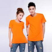 Áo cặp trơn màu cam - ACTCam