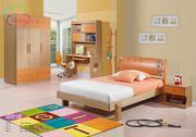 Bộ giường ngủ, kệ đầu giường, tủ quần áo, bàn học 2001