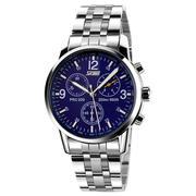 Đồng hồ nam dây hợp kim  Skmei Sk009 (Xanh)