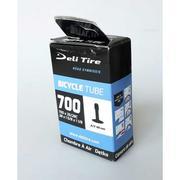 Ruột xe đạp DELI Tire 700 x 25 - 28c (van Mỹ - 48mm)
