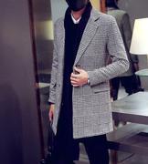 áo khoác măng tô caro