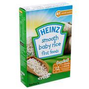 Bột ăn dặm Heinz 4+ vị gạo xay nhuyễn