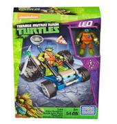 Mega Bloks Teenage Mutant Ninja Turtles Ninja Racers Leo Pizza Roadster