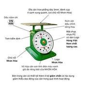 Cân đồng hồ lò xo Nhơn Hòa, 1 mặt số 10kg