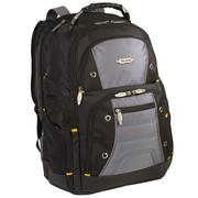 Targus TSB239US Drifter II 17 Laptop Backpack (Black  Gray)