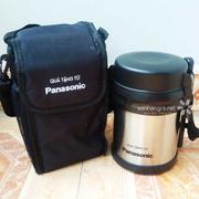 Bộ hộp đựng cơm Inox 304 và túi giữ nhiệt Panasonic hàng Nhật (Hàng thanh lý)