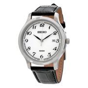 Đồng hồ nam dây da Seiko SUR 187 - Hàng nhập khẩu