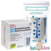 Túi trữ sữa cảm ứng nhiệt Unimom không BPA (60 túi -210ml) 2 lớp - UM870190