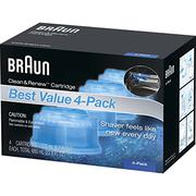 Braun Clean & Renew Frustration Free Refill Cartridges CCR 4  Refills