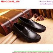 Giày mọi da nam thiết kế đơn giản mà trẻ trung GDM58