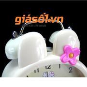 Đồng hồ báo thức để bàn cho bé 17052 (Vàng nhạt)