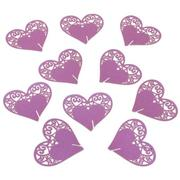 10pcs Love Heart Laser Cut Wedding Party Table Name Place Cards Favor Decor - Intl