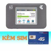 Thiết Bị Phát Wifi 3G/4G Netgear Aircard 782S+Sim 4G Mobifone 30GB/tháng