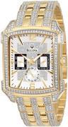 Đồng  hồ nam Bulova 98C109 Crystal Striking Visual Design Watch