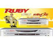 Đầu Karaoke 5 số Ruby MD 2600 Deluxe - Ngõ âm thanh 5.1 CH