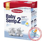 Sữa Semper 2 hộp 800g - dành cho bé từ 6 tháng