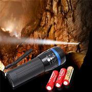 Đèn pin LED siêu sáng 3WATT tặng kèm 3 viên pin tiểu