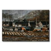 Tranh in canvas sơn dầu Thế Giới Tranh Đẹp Scenery 129