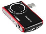 Máy ảnh Samsung PL90 12.2 Mp màu đen viền đỏ