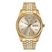 Bulova Men's Day-Date Bracelet Watch #97C002
